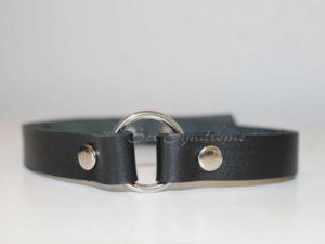 Halsband klassisch mit Ring Sex Zubehör accessoire