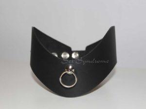 Halsband Choker breit mit Furniture Fetisch accessoire