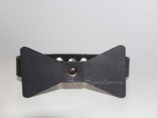 Halsband mit Fliege Sex Zubehör accessoire
