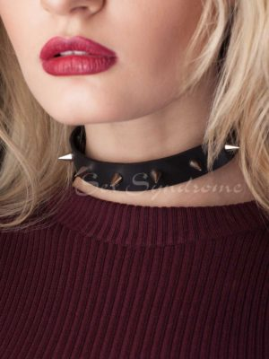 Leather Chokers and Collars