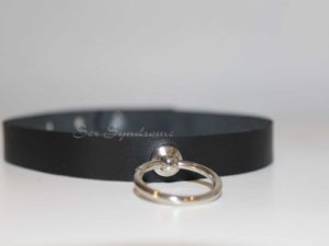 Choker narrow with furniture Sex fetish accessoire