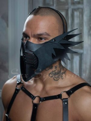 Leather mask Brutal