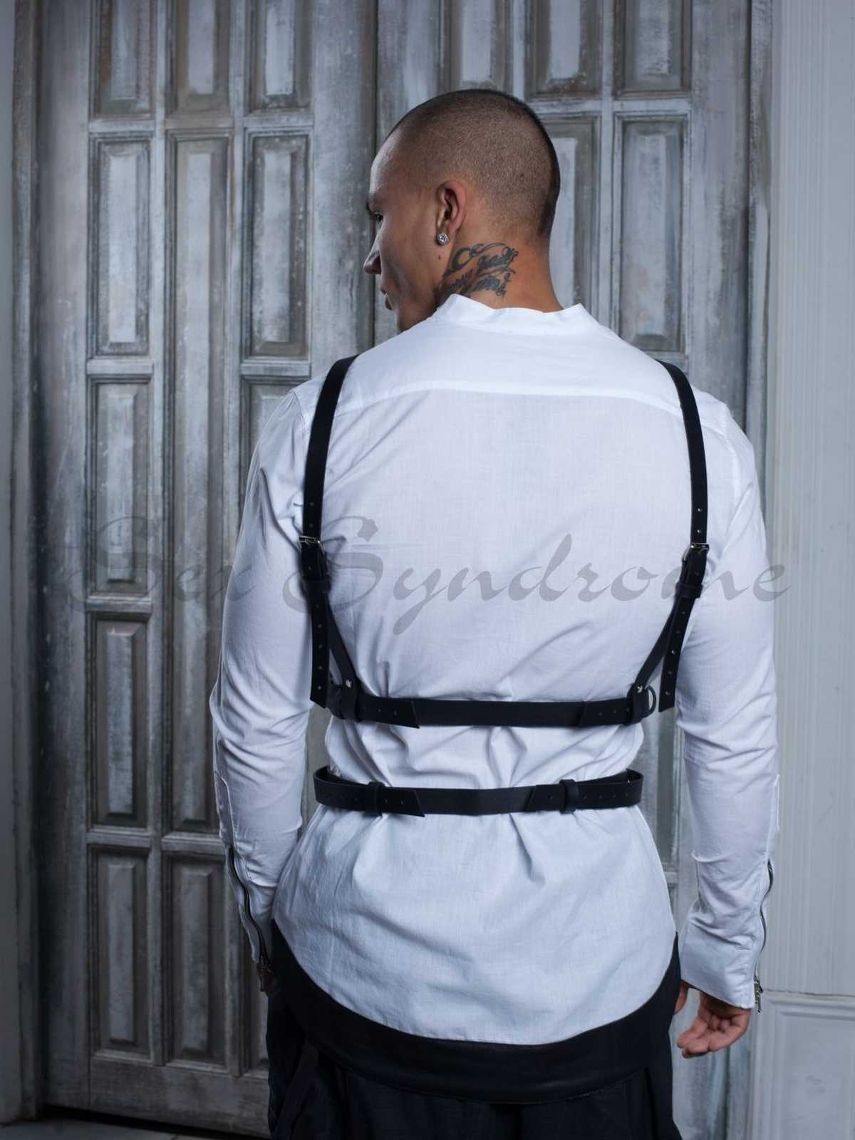Leder harness Dominant