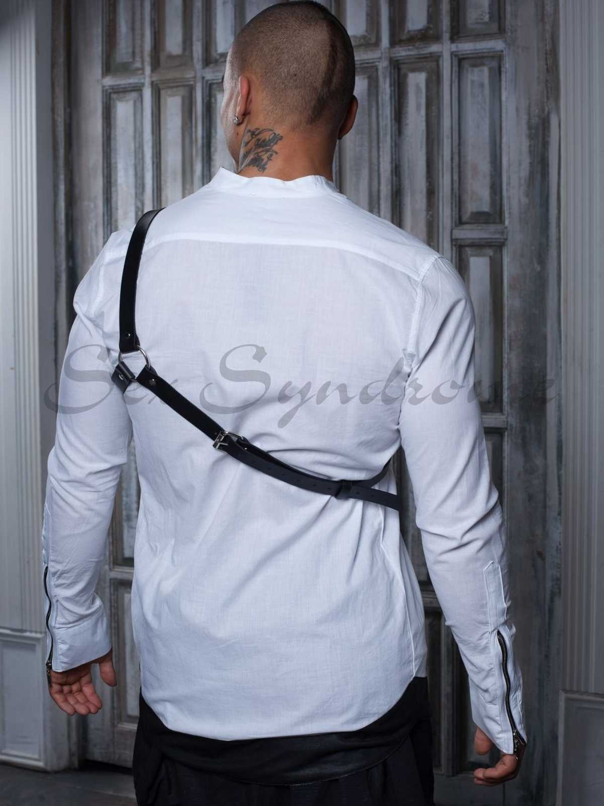 Leder harness Handsome