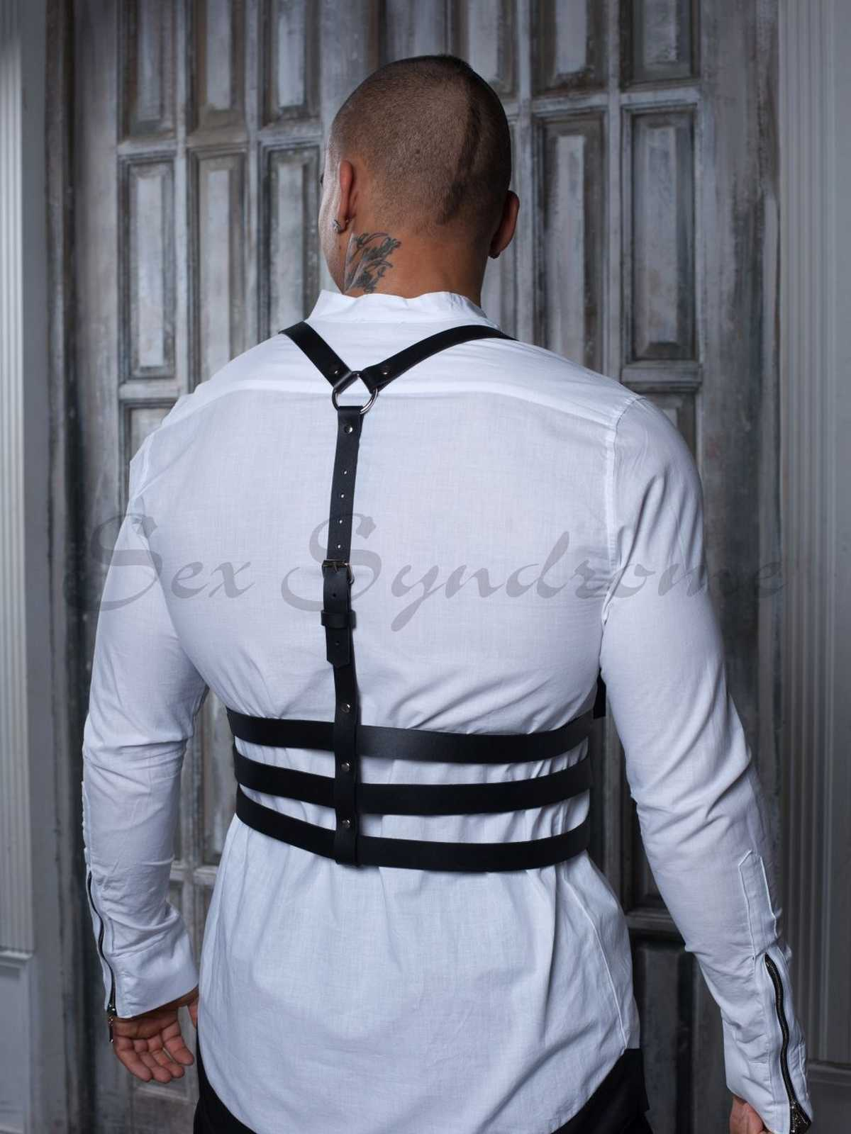Leather harness Passion